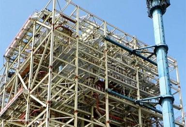 广西岩棉管电厂岩棉保温材料施工现场
